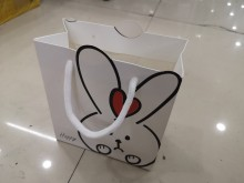 Bolsa de regalo chica 27x31x12 cm x unidad