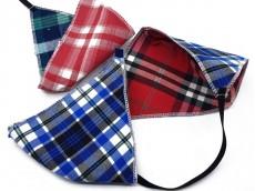 Tapa boca de tela de escocés 4 capas x unidad