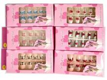 Caja de uñas estampadas x unidad