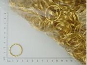 Argolla dorada para llavero x 500