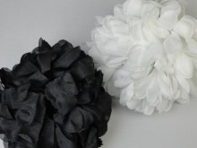 Broche jumbo con flor x unidad