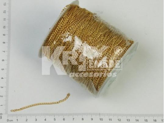 Cadena dorada Nº6 x 100 mts
