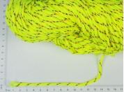 Cordón flúo con rayitas x 100 mts