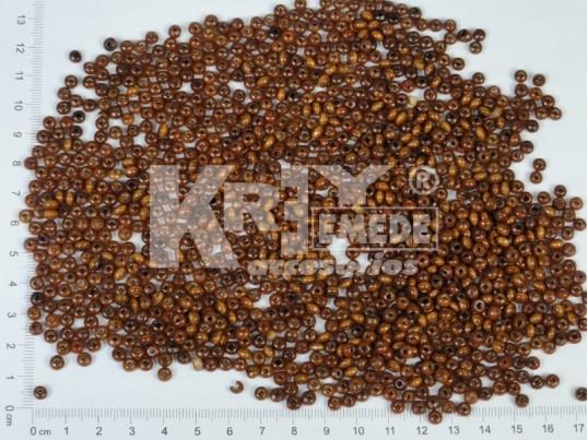 Mostacilla de madera 4 mm x 500 gr