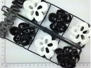 Broche flor calada paq. x 12