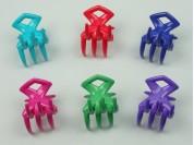 Broche nylon mediano 3D moño x unidad
