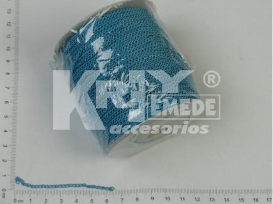 Cadena turqueza 3mm x 100 mts