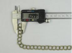 Cadena doble eslabón redondo bronce 1,2 mm x 50 mts