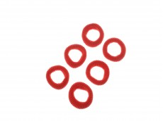 Colita 3 cm x 100 rojo