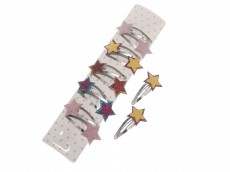 Tic tac con dos estrellas glitter x tira