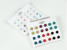 Blister aro perla opaca color N°6 x 12p