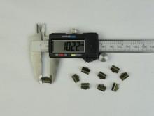 Apretador de cinta bronce (10 mm)