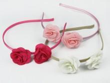 Vincha con dos rosas