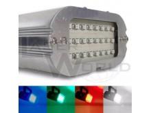 Mini flash estroboscópico audiorítmico 24 leds AZUL