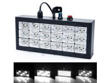 Panel led (no flash) audiorítmico blanco 18 leds